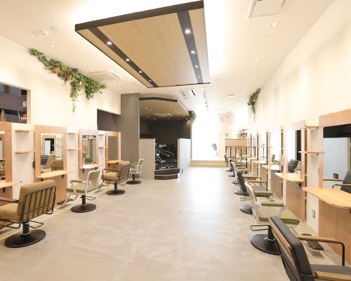 美容室スリーランドの店内写真